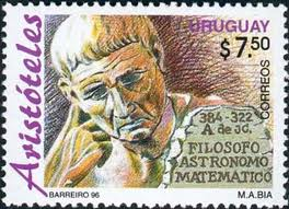Aristotle stamp