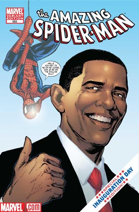 Obama spiderman